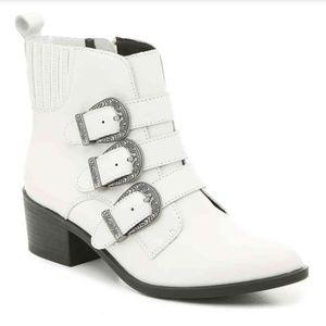 White Steve Madden boots